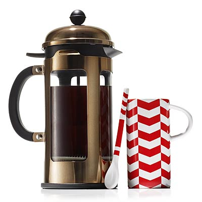 Best pressed 2013 holiday gift guide for women - Starbucks bodum french press ...
