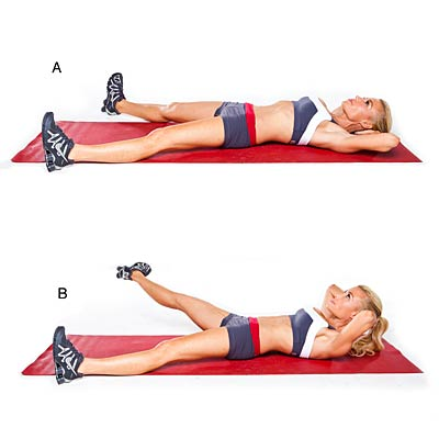 Inner thigh crunch lift - Get a Flat Belly in 4 Weeks ...