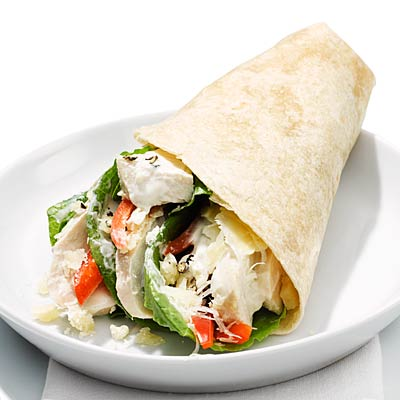 Your Usual Lunch Chicken Caesar Wrap Food Swaps To Get Slim Health Com
