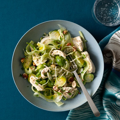 Chicken-Breast-Shaved-brussels-sprouts Recipe