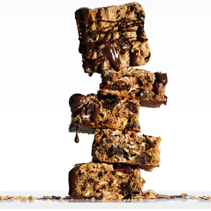 Chocolate Peanut-Butter Energy Bars Recipe