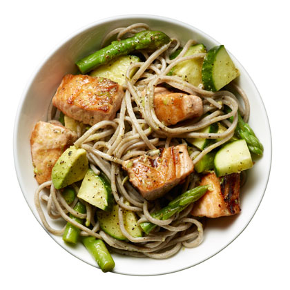 Salmon Noodle Bowl Recipe