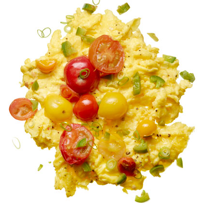 Scrambled Eggs with Chilies Recipe