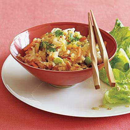 Fried Brown Rice with Edamame Recipe - Health.com