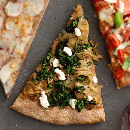 spinach-cheese-pizza Recipe