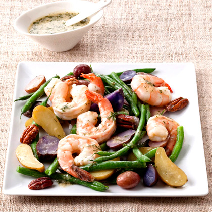 ... Bean and Fingerling Potato Salad with Shrimp Recipe - Health.com