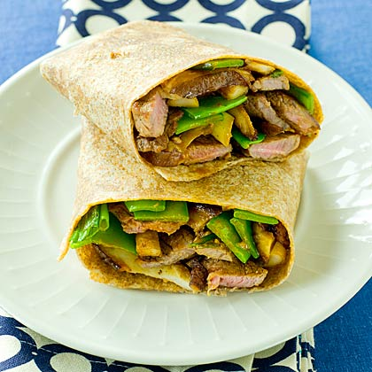how to make a sandwich wrap stay together