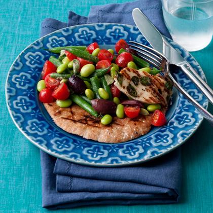 two-bean-greek-salad Recipe