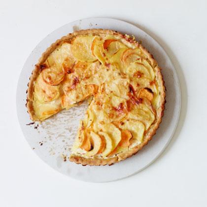 Two Potato Gratin Two-potato Tart Gratin