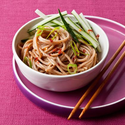 Warm Peanut and Sesame Noodles Recipe - Health.com