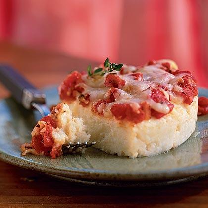 Fruitless Ambition: Potato Torta with Romesco Sauce |Potato Torta