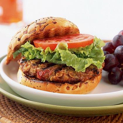 Turkey and Oat Burgers Recipe