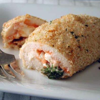 Chicken breast roll ups recipe