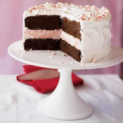 Peppermint Ice Cream Cake Recipe