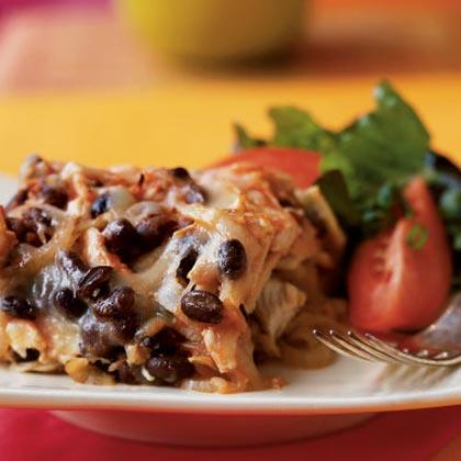 Stuffed Poblano Peppers with Black Bean, Corn & Sweet Potato | Recipe ...
