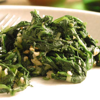 Seasoned Spinach Recipe - Health.com