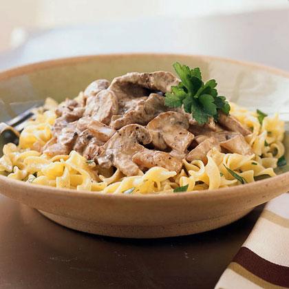 Classic Beef Stroganoff Recipe - Health.com