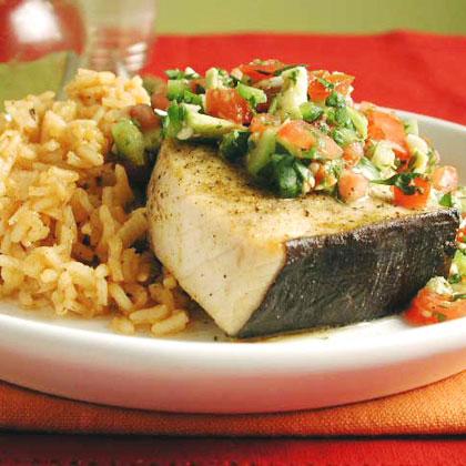 Swordfish Mexicana Recipe