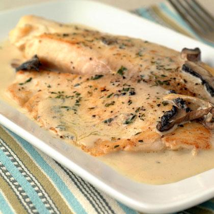 Tilapia in mustard cream sauce recipe for Creamy sauce for fish