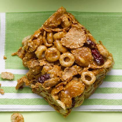 almond-cereal-bars Recipe