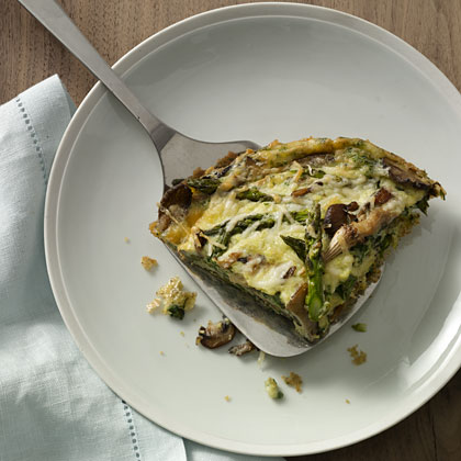 Asparagus-and-Mushroom Frittata Recipe - Health.com
