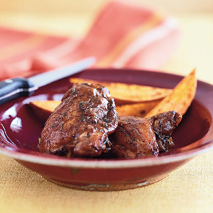 Balsamic Braised Chicken Recipe - Health.com