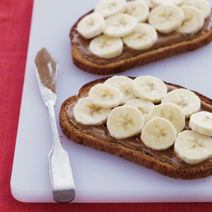 banana-and-almond-butter-toast Recipe