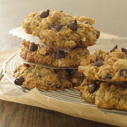 Banana-Oatmeal-Chocolate Chip Cookies Recipe - Health.com