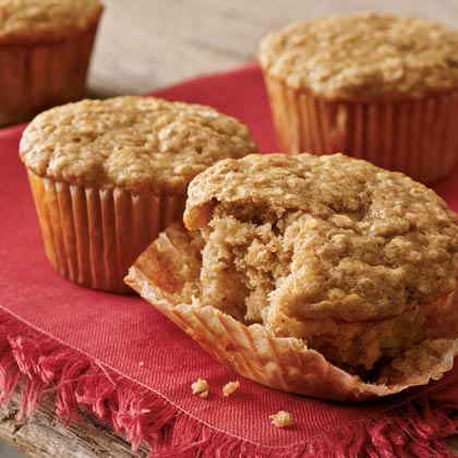 how to make banana oatmeal muffins