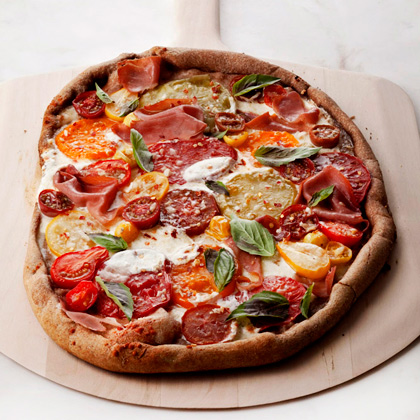 tomato basil pizza pizza with fresh tomatoes and this tomato basil and ...