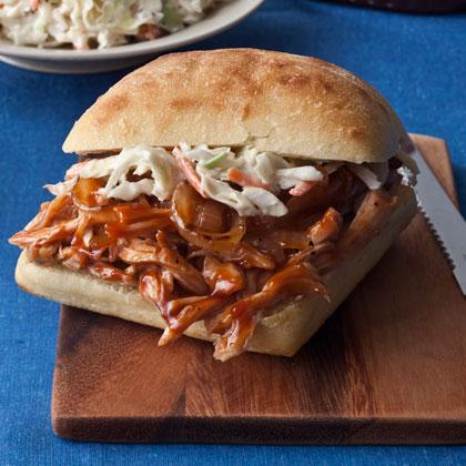 BBQ Chicken Sandwiches Recipe