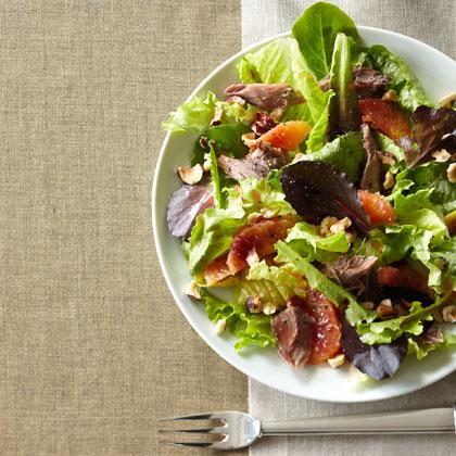 blood-orange-duck-confit-salad Recipe