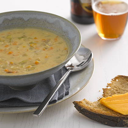 Cheddar-Ale Soup Recipe - Health.com