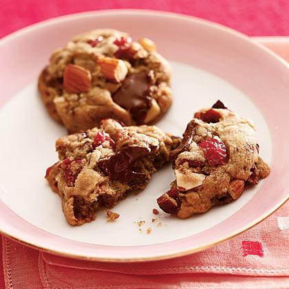 Cherry-Almond-Chocolate-Chunk Cookies Recipe - Health.com