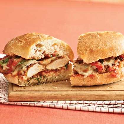 Chicken Parmesan Sandwiches Recipe - 39.9KB