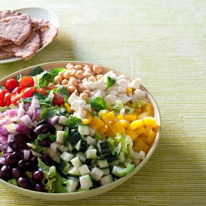 chopped greek salad with greek chopped salad greek chopped salad greek ...