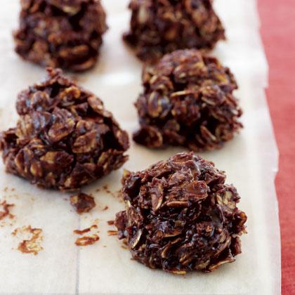 dark-chocolate-oat-clusters Recipe