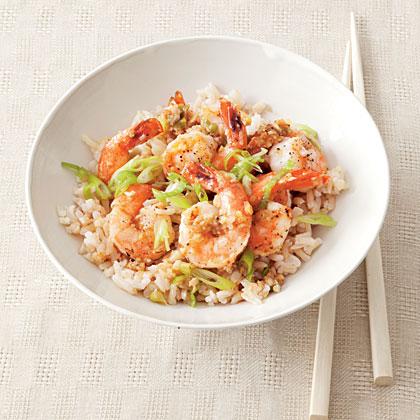 asian-shrimp-rice Recipe