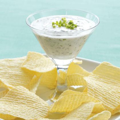 Garlic and Herb Yogurt Dip Recipe - Health.com
