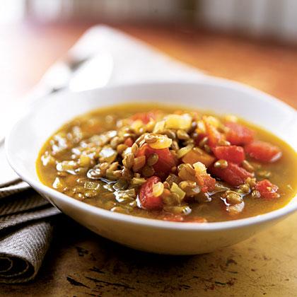 Gingery Lentil Soup Recipe - Health.com
