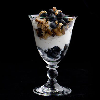 yogurt-fruit-nut-parfaits Recipe