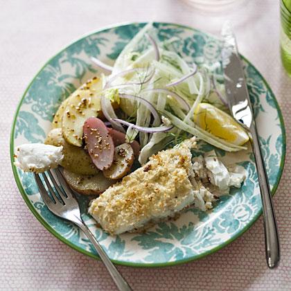 halibut-horseradish-crust Recipe
