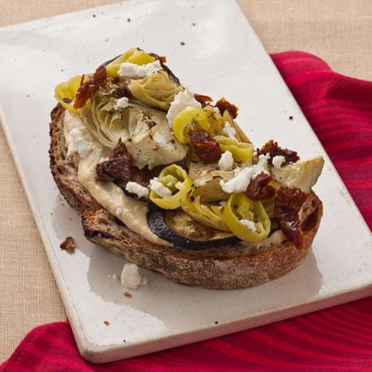 for this sandwich artichoke feta sandwich feta crumbles and fresh ...