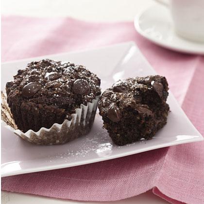fudge-chip-muffins Recipe