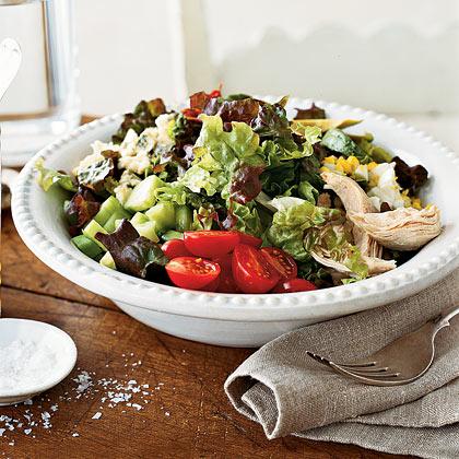 Layered Cobb Salad Recipe - Health.com