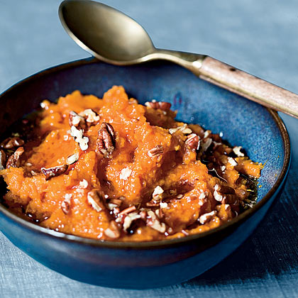 Maple-Pecan Sweet Potato Mash Recipe - Health.com