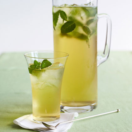 minty-iced-green-tea Recipe