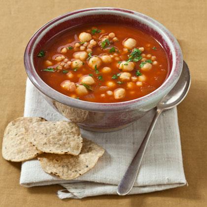 Pancetta and Chickpea Soup Recipe - Health.com