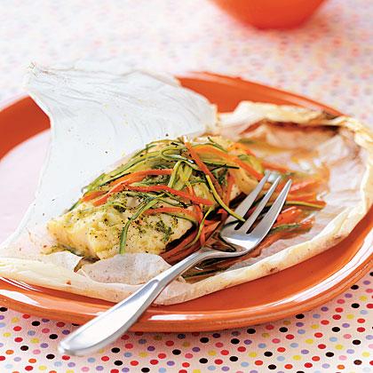 parchment-halibut Recipe