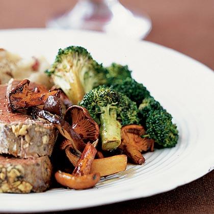 Roasted Balsamic Broccoli Recipe